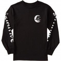 Primitive Night Owl Longsleeve T-Shirt - Black