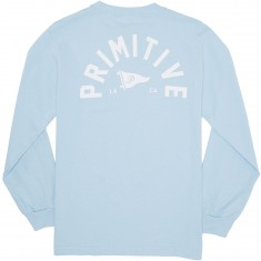 Primitive Big Arch Pennant Longsleeve T-Shirt - Powder Blue