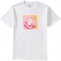 Primitive Pink Rose T-Shirt - White