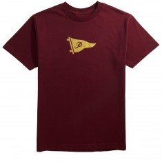 Primitive Pennant Speckle T-Shirt - Burgundy
