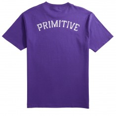 Primitive Bones Glow T-Shirt - Purple
