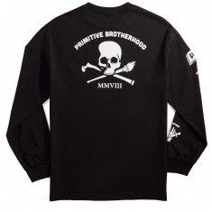 Primitive Brotherhood Longsleeve T-Shirt - Black