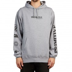 Primitive Black Magic Hoodie - Grey Heather