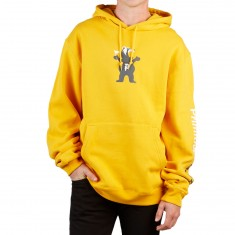 Primitive X Grizzly Mascot Hoodie - Yellow