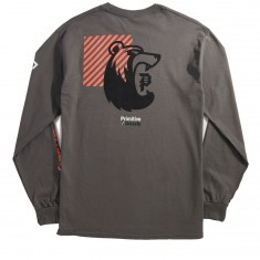 Primitive X Grizzly Bearhaus Long Sleeve T-Shirt - Charcoal