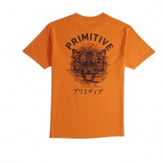 Primitive X Paul Jackson Tiger T-Shirt - Orange