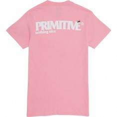 Primitive El Escorpian T-Shirt - Pink