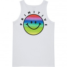 Primitive Vibes Tank Top - White