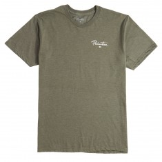 Primitive Nuevo Pennant Core T-Shirt - Olive Heather