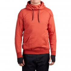 Push Culture Pullover Hoodie - Red