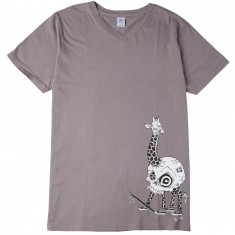 Push Culture Giraffe T-Shirt - Grey