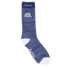 Rip N Dip Peek A Nermal Socks - Navy