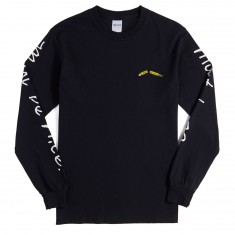 RIPNDIP Standards Long Sleeve T-Shirt - Black