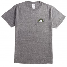 Rip N Dip Cat Nip Pocket T-Shirt - Heather Gray
