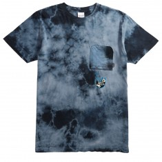 Rip N Dip Falling Electicuted Pocket T-Shirt - Deep Sea Lightning Wash