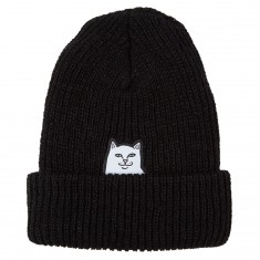 Rip N Dip Lord Nermal Ribbed Beanie - Black