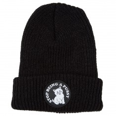 SBAP Ribbed Beanie - Black