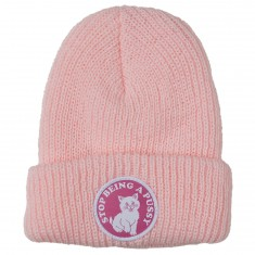 SBAP Ribbed Beanie - Pink