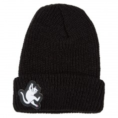 Rip N Dip Hang In There Ribbed Beanie - Black