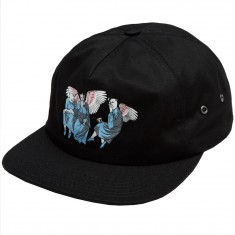 RIPNDIP Heaven And Hell 6 Panel Hat - Black