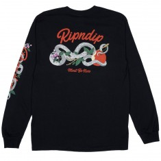 RIPNDIP Serpent Long Sleeve T-Shirt - Black