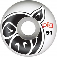 Pig Head Natural Skateboard Wheels - 51mm