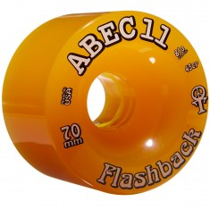 Abec11 70's Flashbacks Longboard Wheels 70mm - Amber Limited Edition
