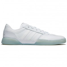 Adidas City Cup Shoes - White/White/Gold Metallic