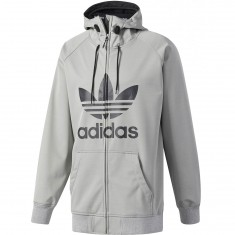 Adidas Greeley Soft Shell Snowboard Jacket - Core Heather/Black