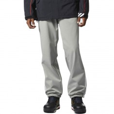 Adidas Lazy Man Snowboard Pants - Core Heather/White