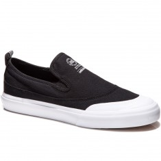 Adidas Matchcourt Slip Shoes - Black/Black/White