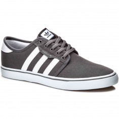 Adidas Seeley Shoes - Ash/White/Black
