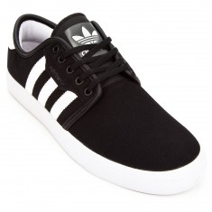 Adidas Seeley Shoes - Black/White/Gum