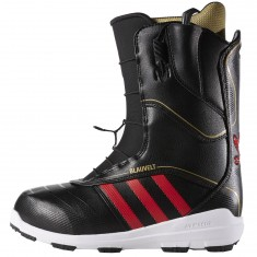 Adidas The Blauvelt Snowboard Boots - Black/Red/Gold Metallic