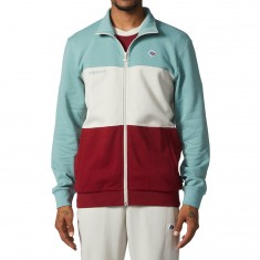 Adidas X Magenta Jacket - Vapor Steel/Clear Brown/Burgundy