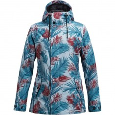 Airblaster Posh Womens Parka Snowboard Jacket - Faded Jungle