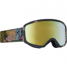 Anon Optics Deringer MFI Womens Snowboard Goggles - Tiki/Gold Chrome