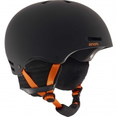 Anon Optics Raider Snowboard Helmet 2017 - Black/Orange