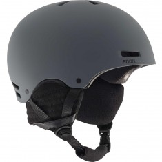 Anon Optics Raider Snowboard Helmet 2017 - Dark Grey