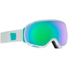 Anon Optics Tempest MFI Snowboard Goggles - Empress White/Green Slx