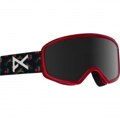 Anon Optics Tempest Snowboard Goggles - Black Cherries/Dark Smoke