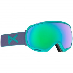Anon Optics Tempest Snowboard Goggles - Gala Purple/Green Solex