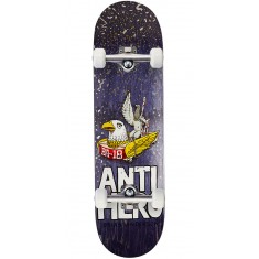 "Anti-Hero BA First Skateboard Complete - 8.62"" - Purple"