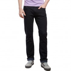 CCS Slim Straight Fit Jeans - Washed Black