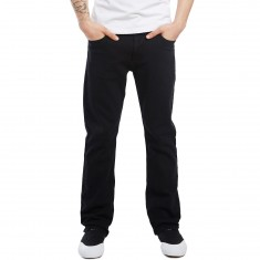 CCS Banks Straight Fit Jeans - Black