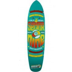Sector 9 The Wedge Longboard Deck - Teal