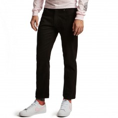 CCS Straight Fit 5 Pocket Twill Pants - Black