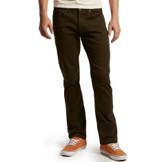 CCS Straight Fit 5 Pocket Twill Pants - Dark Olive