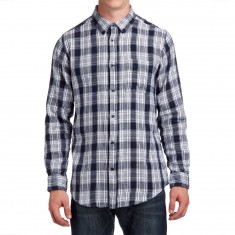 CCS Flannel Long Sleeve Shirt - Burnside White
