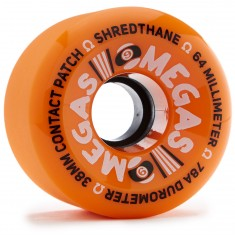 Sector 9 Omegas Longboard Wheels - Orange - 64mm
